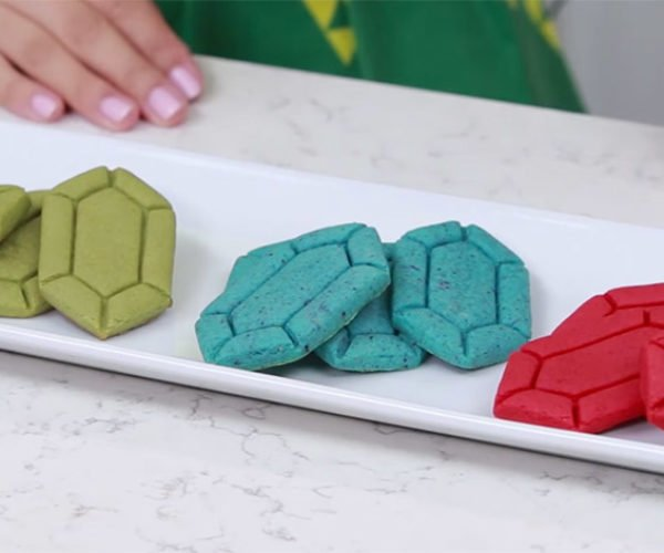 Zelda Rupee Sugar Cookies Will Buy you 'Beetus