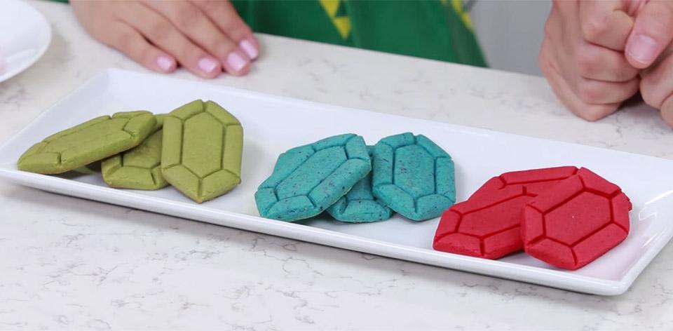 Zelda Rupee Sugar Cookies Will Buy you 'Beetus - Technabob