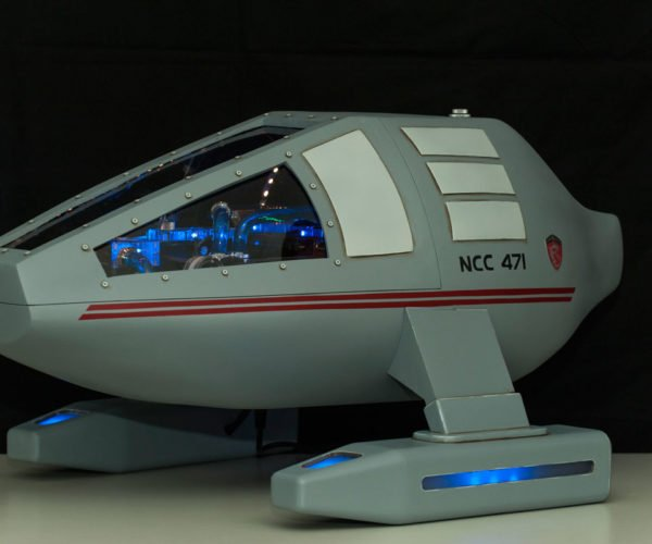Custom Star Trek USS Dragon-1 PC: To Boldly Game