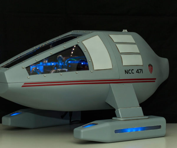 Custom Star Trek USS Dragon-1 PC: To Boldly Game