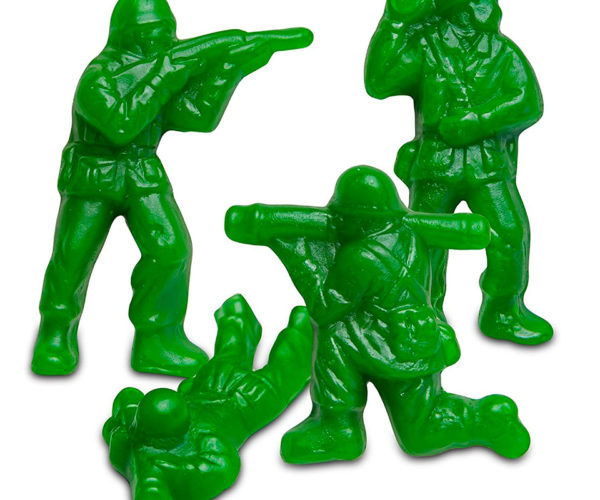 Gummy Army Men Will Blow Up Your Gut