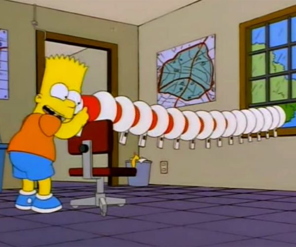 Bart Simpson's Megaphone Prank Recreated IRL