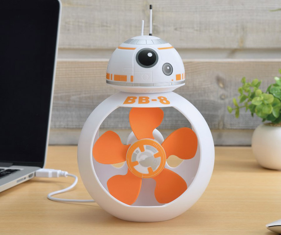 Then You Ll Love This Desk Fan That Looks Just Like The Adorable Little Droid He S Still Got His Wobbly Head But Has Been Replaced With An