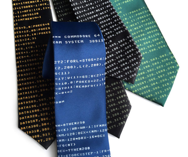 These Commodore 64 Necktie Are BASICally Awesome