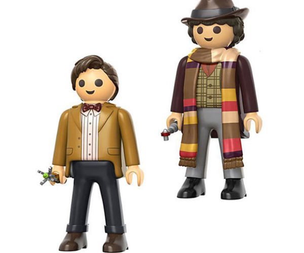 Doctor Who Jumbo Playmobil Action Figures: Make Some Time and Space for More Toys