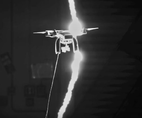 Watch Some Drones Get Hit by Over a Million Volts