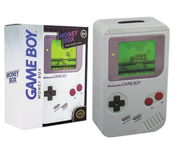 Nintendo Game Boy Piggy Bank: Insert Coin, Start Saving