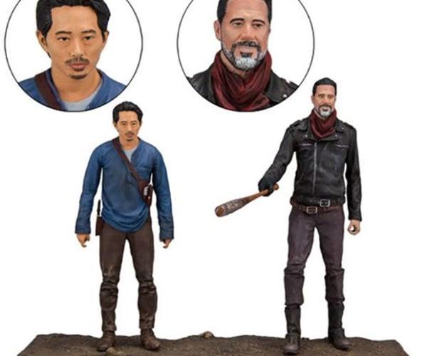 The Walking Dead's Glenn and Negan Reunite in Statue Form