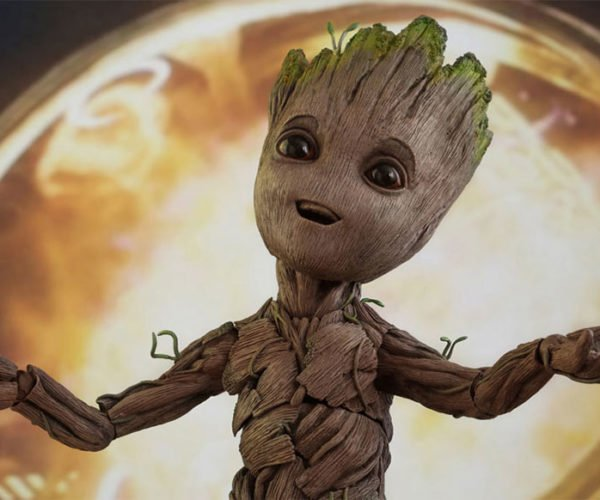 Baby Groot Figure is Life Size: I am Cute!