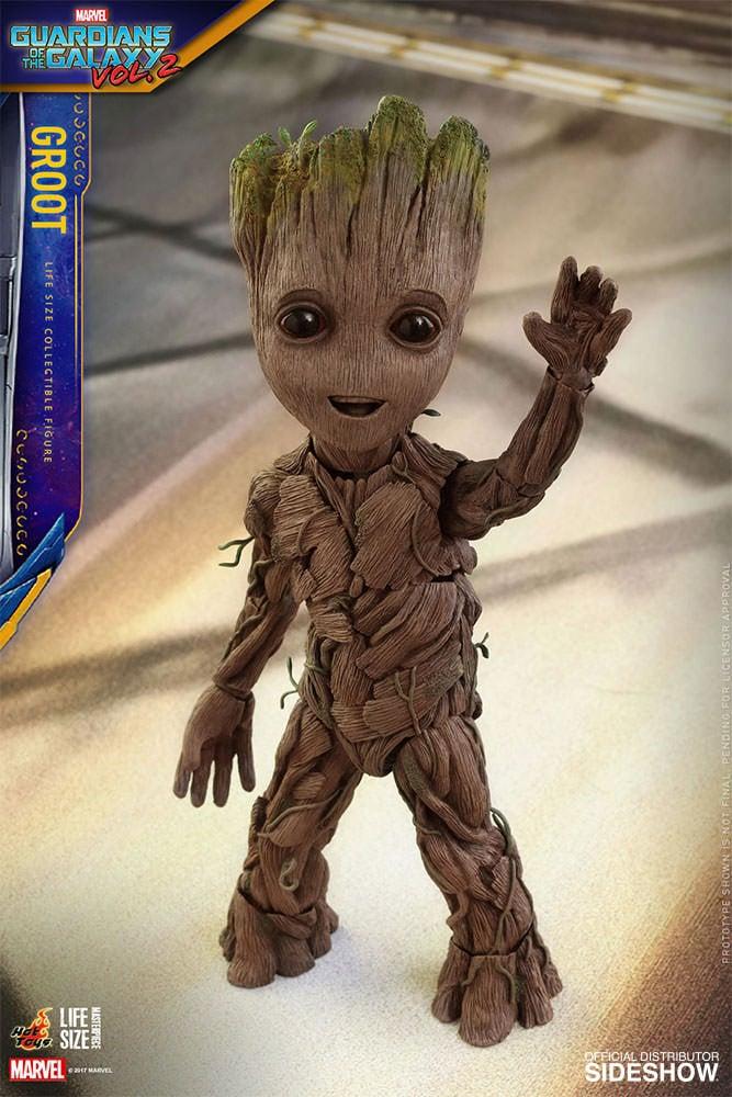 Baby Groot Figure is Life Size: I am Cute! - Technabob