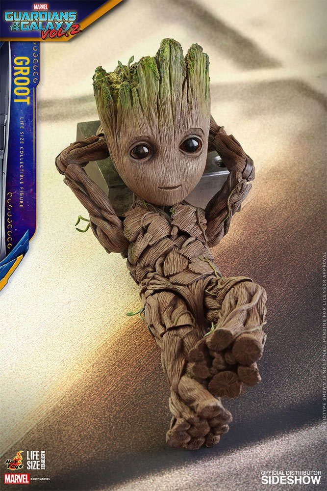 Baby Groot Figure Is Life Size I Am Cute Technabob