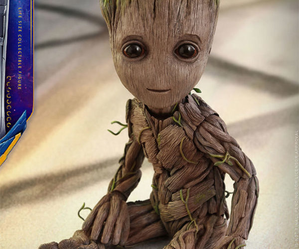 F Type Price >> Baby Groot Figure is Life Size: I am Cute!