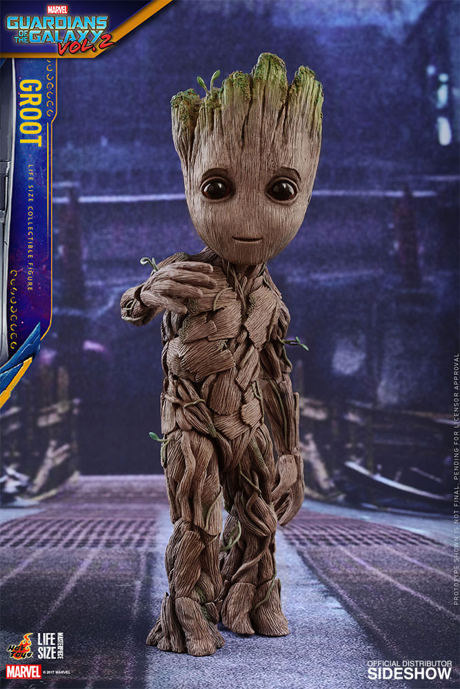 Baby Groot Figure Is Life Size I Am Cute Technabob