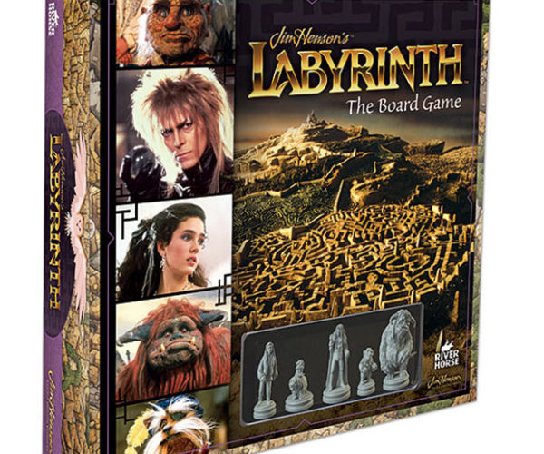 Labyrinth Board Game: Roll Your Dice, Save the Baby