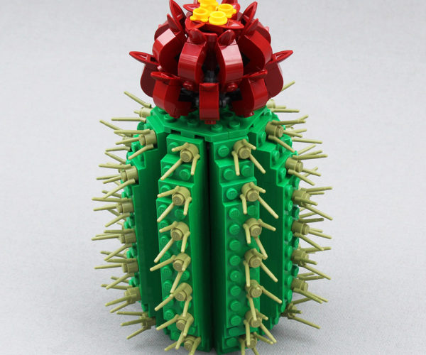 This LEGO Cactus Is a Thorny Proposition