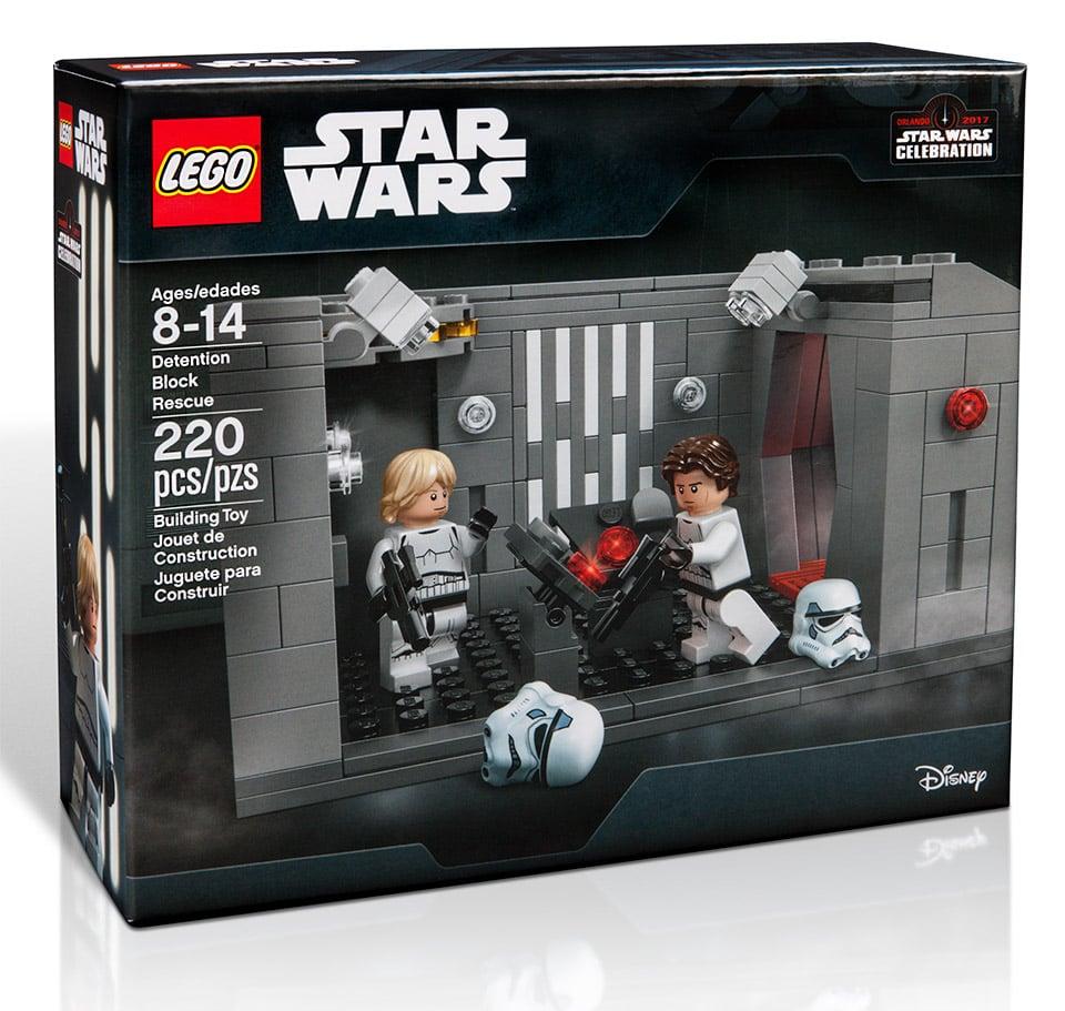 star wars celebration detention block rescue lego set technabob. Black Bedroom Furniture Sets. Home Design Ideas