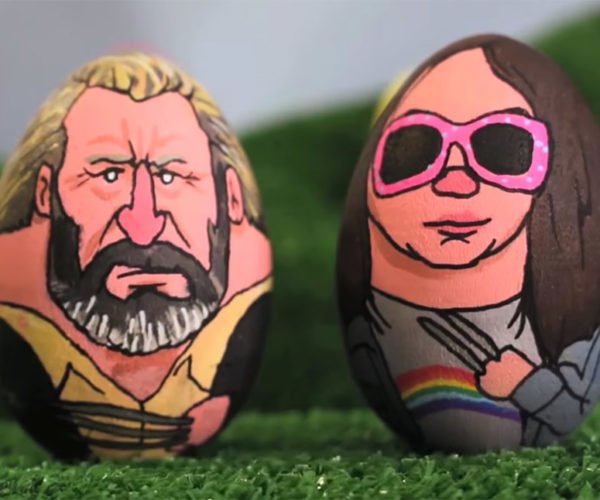 Artist Paints Awesome Pop Culture Easter Eggs