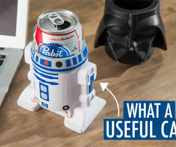 Darth Vader and R2-D2 Koozies: The Chill Side of the Force