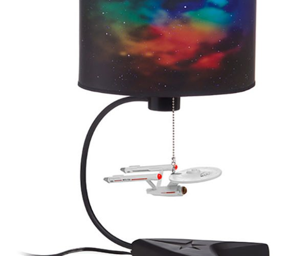 Starship Enterprise Table Lamp: To Boldly Glow