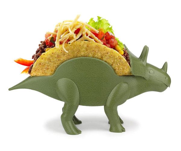 TriceraTACO Taco Holder: That's Prehistoric Mexico Right Here, Folks.