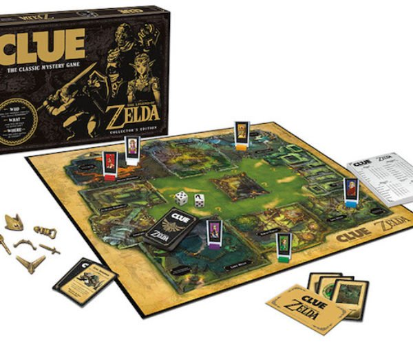 The Legend of Zelda Clue Board Game: It's Dangerous to Go into the Conservatory Alone…