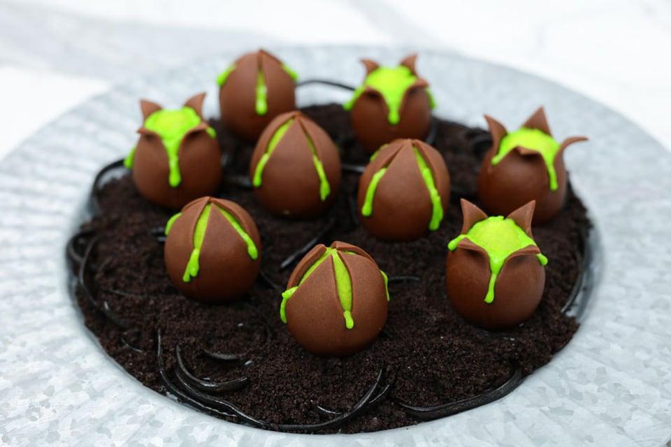 Alien Egg Cake Balls