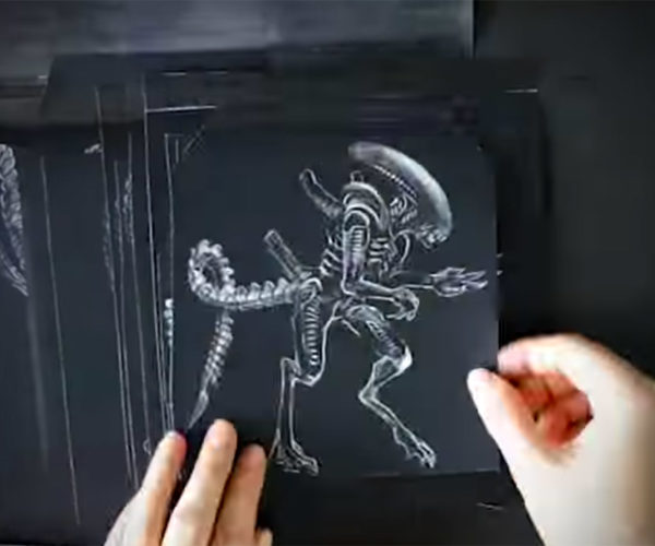 Check out This Awesome Alien: Covenant Flipbook