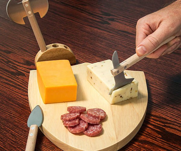 Medieval Cheese Board: Cheddar Is Coming
