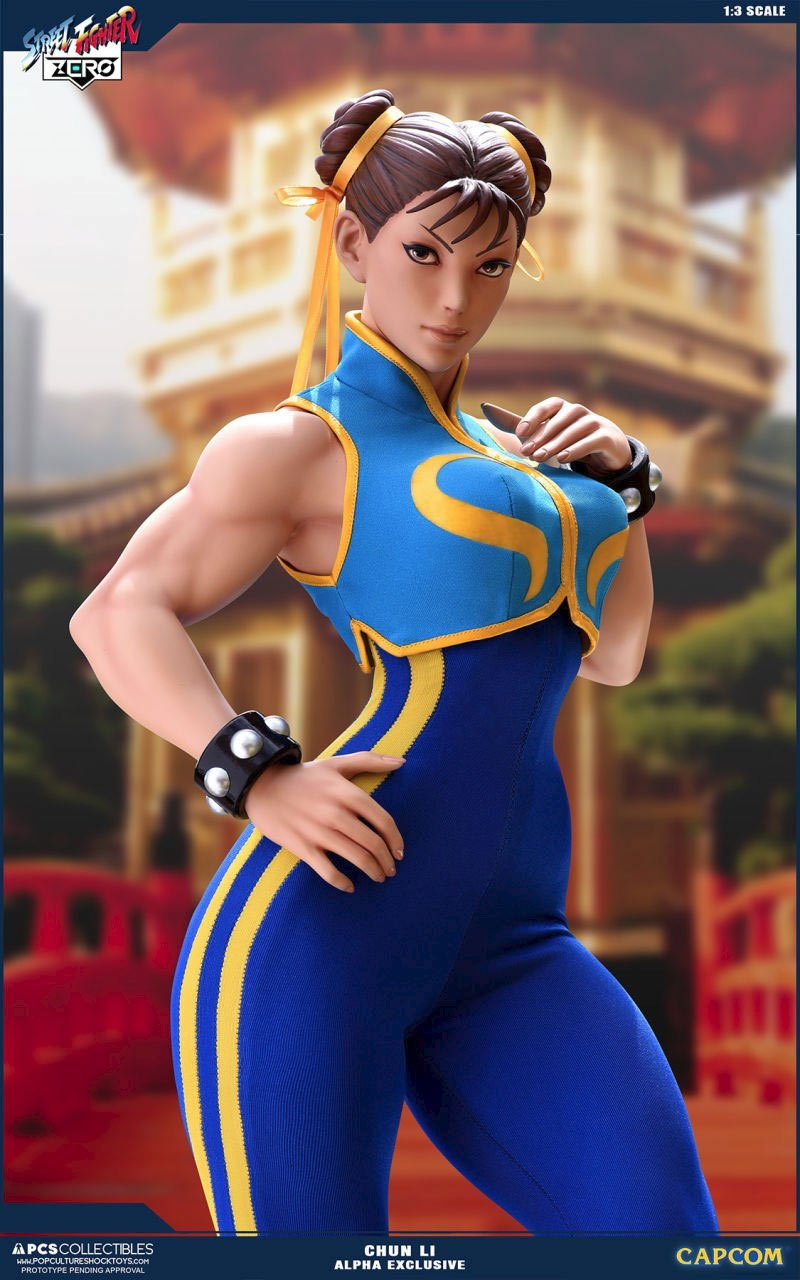 Street fighter 5 chun li gif
