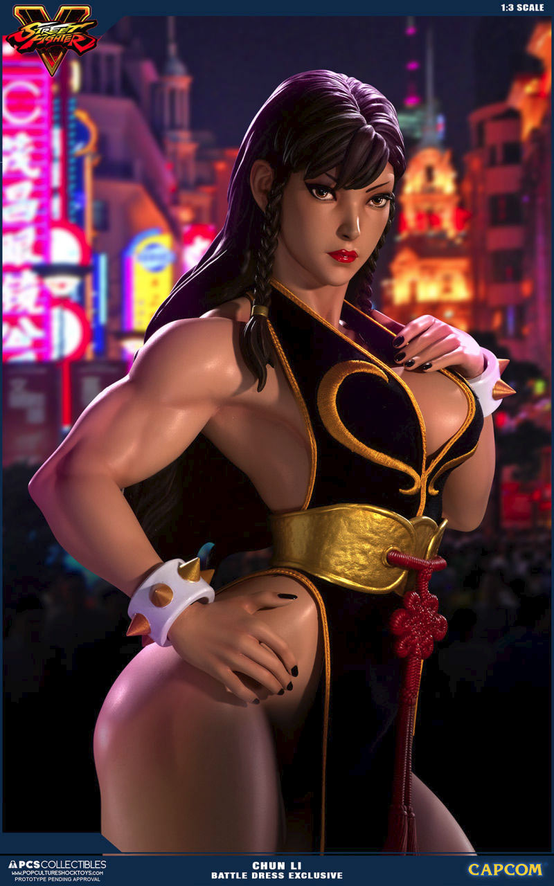 Chun Li Street Fighter Statues Have An L A Face And Oakland Booty