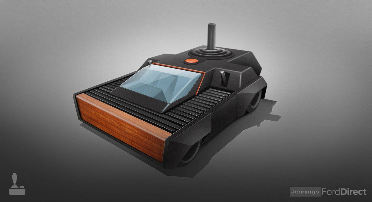 If Classic Game Consoles Were Cars - Technabob