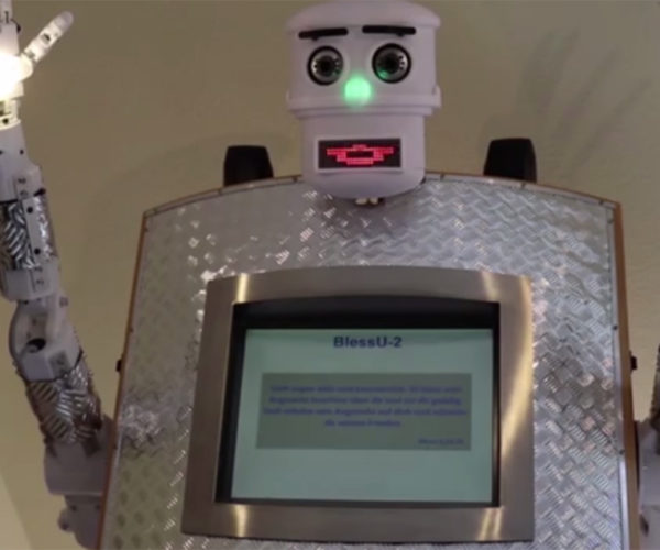 German Church Creates Robot Priest: The Humans Are Saved!