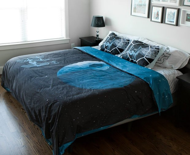 Star Wars Death Star Bedding The Softer Side Of The Dark