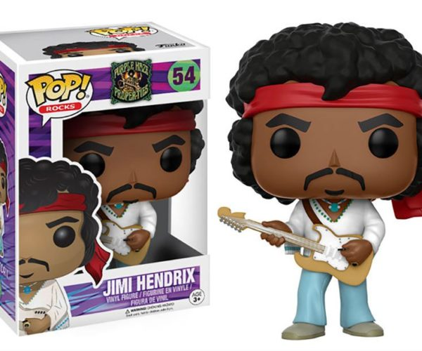 Jimi Hendrix Woodstock POP! Figure Will Kiss the Sky