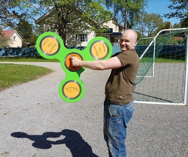 Behold, The World's Largest Fidget Spinner