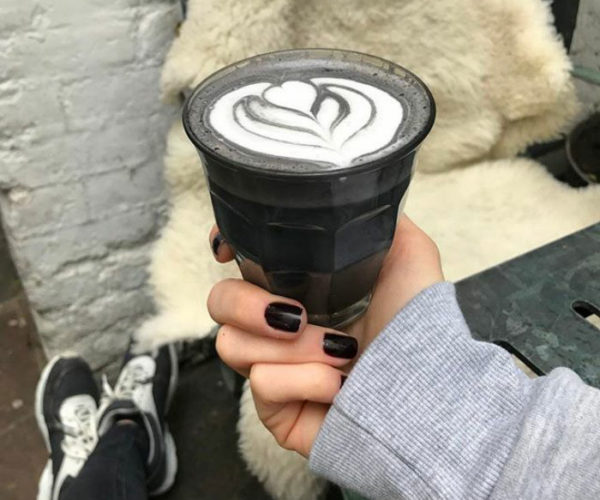 Goth Lattes: I'll Take My Coffee Black