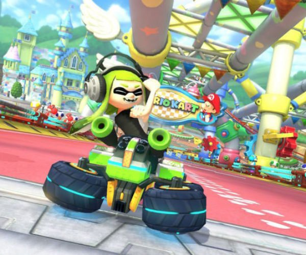 "Mario Kart 8 Inkling Girl's ""Up Yours"" Gesture Removed"