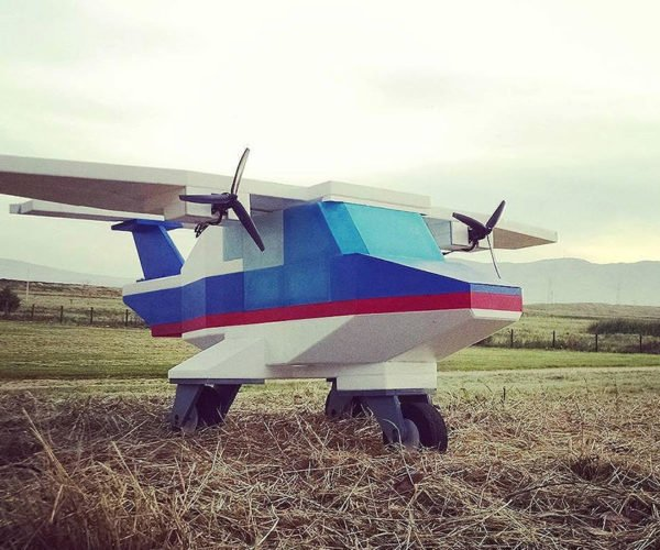 Guy Turns Classic LEGO Set Into an RC Airplane That Actually Flies