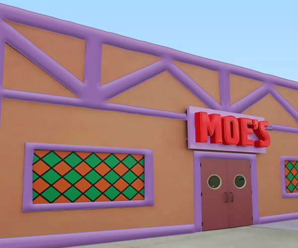 Don't Make a Flaming Moe in This Inflatable Moe's Tavern