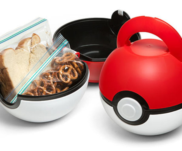 Poké Ball Lunch Box: Gotta Eat it All!