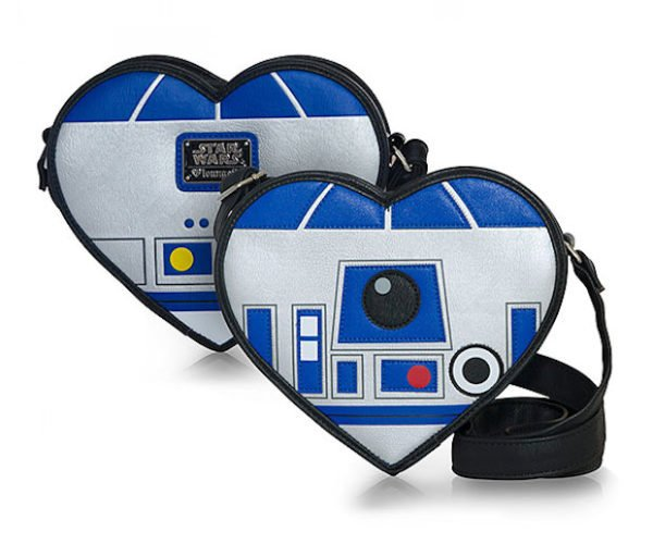 Star Wars R2-D2 Heart Crossbody Bag: Droid Chic