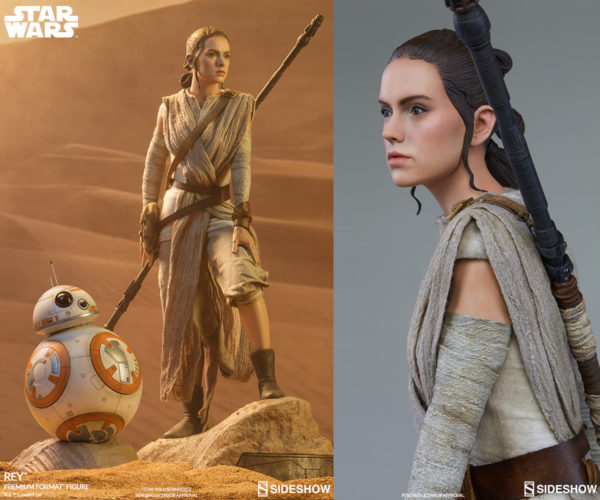 Sideshow Collectibles Goes Behind the Scenes with Rey and BB-8 Figures