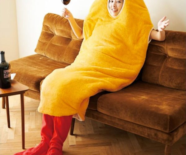 Fried Shrimp Sleeping Bag: For the Seafood Lover in You