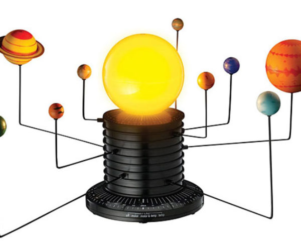 Motorized Solar System Lets You Play God