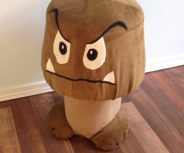 Sit Your Butt on This Super Mario Goomba Stool