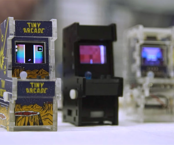 Tiny Arcade: World's Smallest Playable Arcade Cabinets