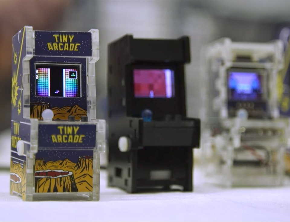 Tiny Arcade: World's Smallest Playable Arcade Cabinets - Technabob