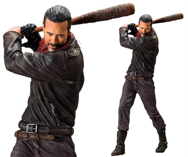 The Walking Dead Negan 10″ Deluxe Action Figure: Splatter Up!