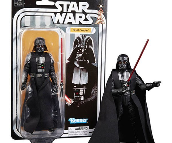 40th Anniversary Darth Vader Action Figure: Force over Your Money, Luke.