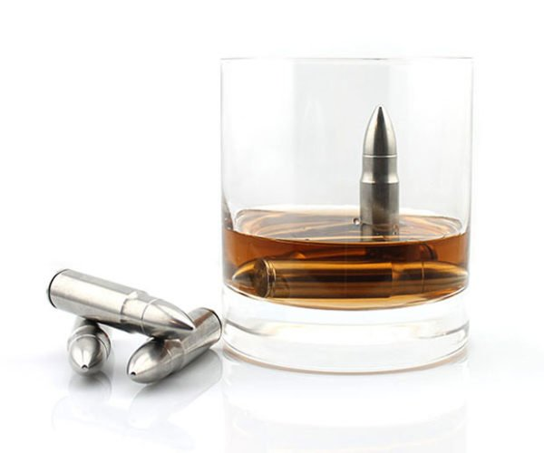 Whisky Bullets Will Cool Your Shots